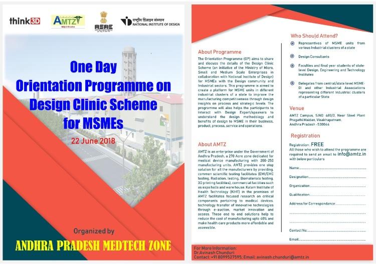 Orientation Program by NID n AMTZ-001